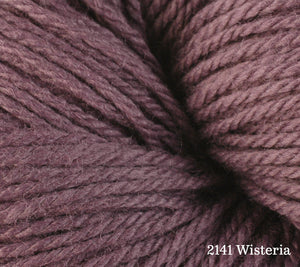 A close up of Berroco Vintage DK in 2141 Wisteria