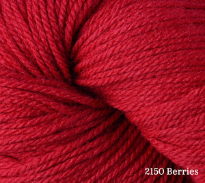 A close up of Berroco Vintage DK in 2150 Berries