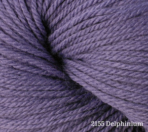 A close up of Berroco Vintage DK in 2155 Delphinium