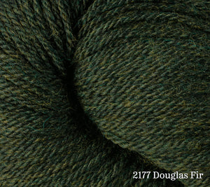 A close up of Berroco Vintage DK in 2177 Douglas Fir