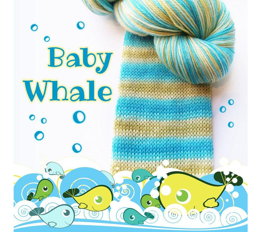 Biscotte Bis-Sock in Baby Whale