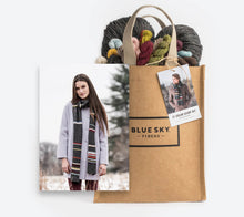 Load image into Gallery viewer, Blue Sky Fibers 21 Color Scarf Kit