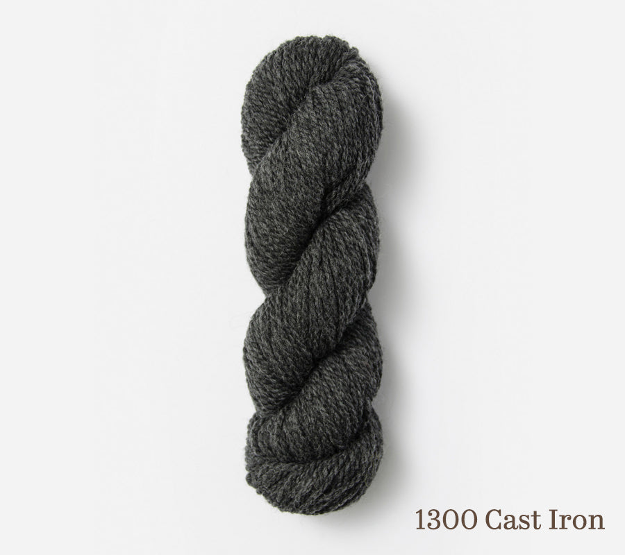 A skein of Blue Sky Fibers Woolstok (50g) in 1300 Cast Iron