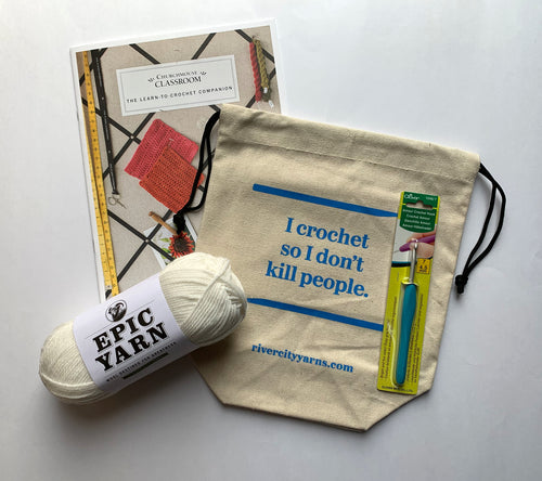 A Boredom Buster Learn to Crochet kit