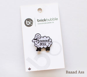 brickbubble Enamel Pin Collection
