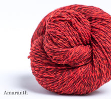 Load image into Gallery viewer, A ball of Brooklyn Tweed Loft in Amaranth