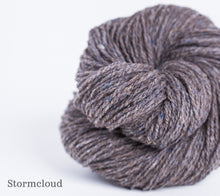 Load image into Gallery viewer, A ball of Brooklyn Tweed Loft in Stormcloud
