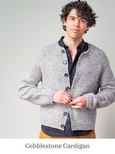 Load image into Gallery viewer, A model wearing Cobblestone Cardigan
