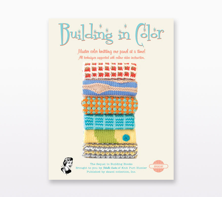 A book cover of Building in Color