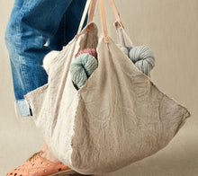 Load image into Gallery viewer, Cocoknits Linen Cloth Bag