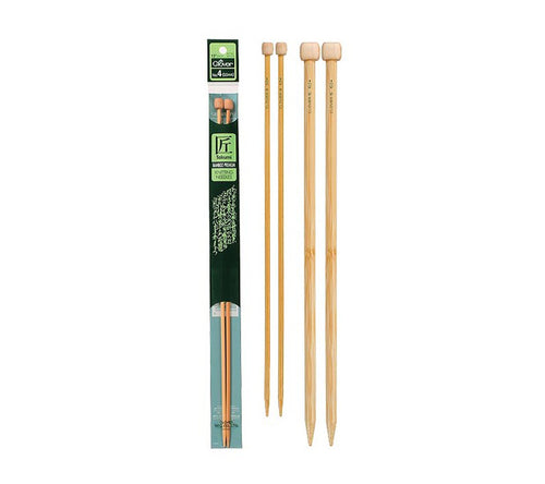 Clover Bamboo Straight Needles