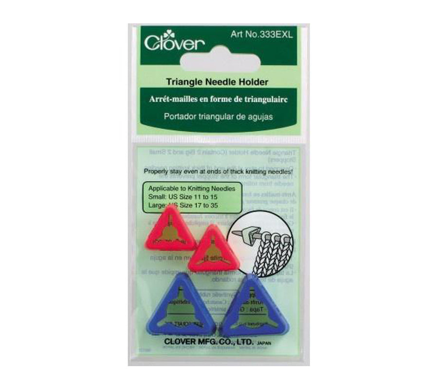 Clover Triangle Needle Holder
