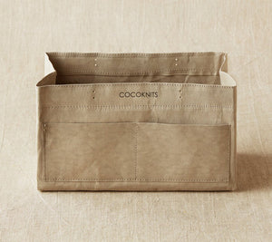 Cocoknits Kraft Caddy in Gray