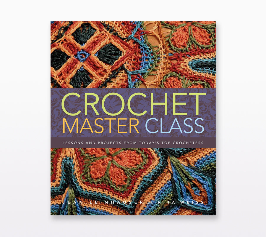Book cover of Crochet Master Class