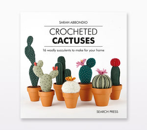 A book cover of Crocheted Cactuses
