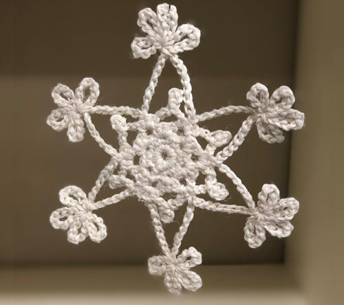 Crocheted Snowflakes Kit