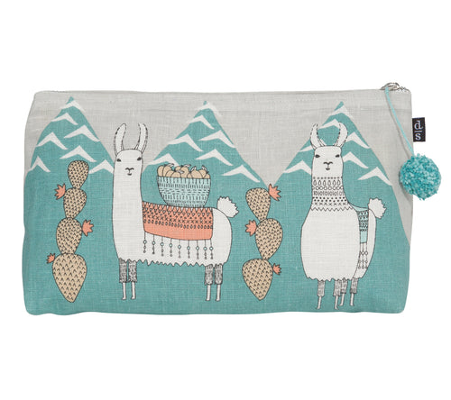 Danica Cosmetic Bag Llamarama