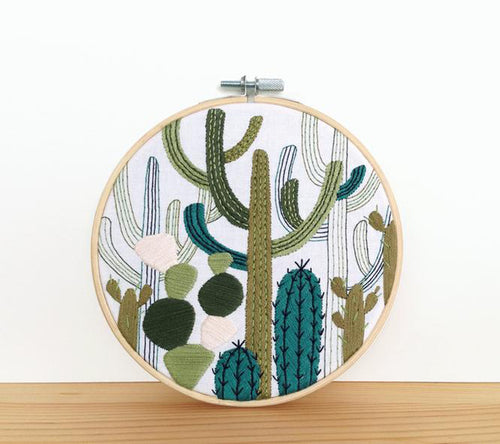 A DIY Embroidery Kit by Embroidery and Sage