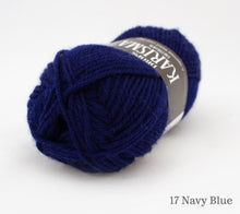 Load image into Gallery viewer, A ball of Drops Karisma in 17 Navy Blue