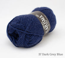 Load image into Gallery viewer, A ball of Drops Karisma in 37 Dark Grey Blue