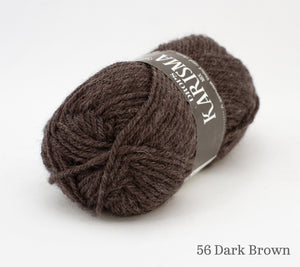 A ball of Drops Karisma in 56 Dark Brown