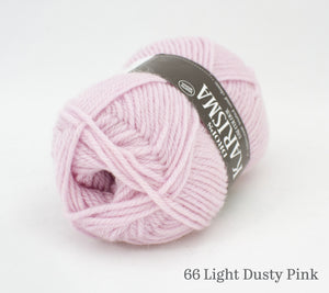 A ball of Drops Karisma in 66 Light Dusty Pink