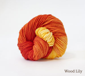 A ball of RCY Eden in Wood Lily