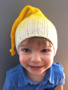 Elf Hat in yellow