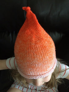 Elf Hat in orange