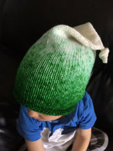 Load image into Gallery viewer, Elf Hat in green