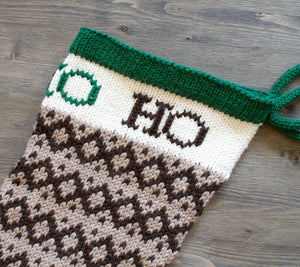 Close up of an Epic Christmas Stocking