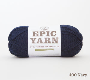 A ball of Epic Yarn in 400 Ivory