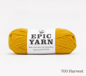 A ball of Epic Yarn in 700 Harvest