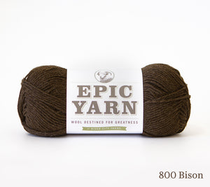 A ball of Epic Yarn in 800 Bison