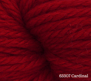 A close up of Estelle Chunky in 63307 Cardinal