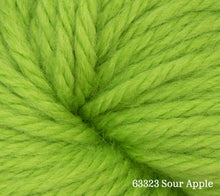 Load image into Gallery viewer, A close up of Estelle Chunky in 63323 Sour Apple