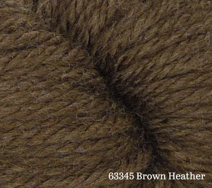 A close up of Estelle Chunky in 63345 Brown Heather
