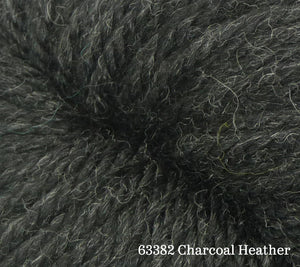 A close up of Estelle Chunky in 63382 Charcoal Heather