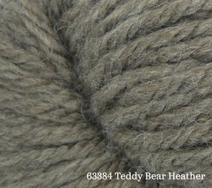 A close up of Estelle Chunky in 63384 Teddy Bear Heather