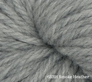 A close up of Estelle Chunky in 63391 Smoke Heather