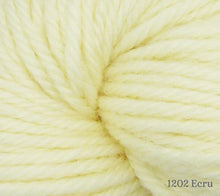 Load image into Gallery viewer, A close up of Estelle Worsted in 1202 Ecru