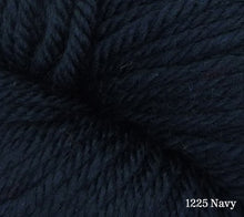 Load image into Gallery viewer, A close up of Estelle Worsted in 1225 Navy