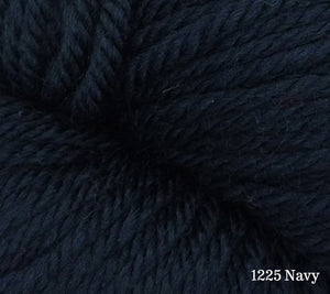 A close up of Estelle Worsted in 1225 Navy