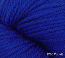 Load image into Gallery viewer, A close up of Estelle Worsted in 1230 Cobalt
