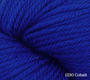 A close up of Estelle Worsted in 1230 Cobalt