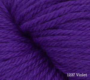 A close up of Estelle Worsted in 1237 Violet
