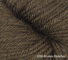 Load image into Gallery viewer, A close up of Estelle Worsted in 1245 Brown Heather