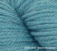 Load image into Gallery viewer, A close up of Estelle Worsted in 1285 Clear Water Heather