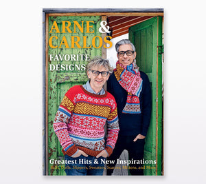 A book cover of Arne & Carlos Favorite Designs