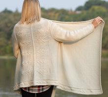 Load image into Gallery viewer, Feather Cardigan Wrap Pattern